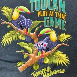 Tommy Bahama Graphic T shirt 'Ply At That Game'